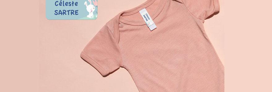 Étiquettes vêtements